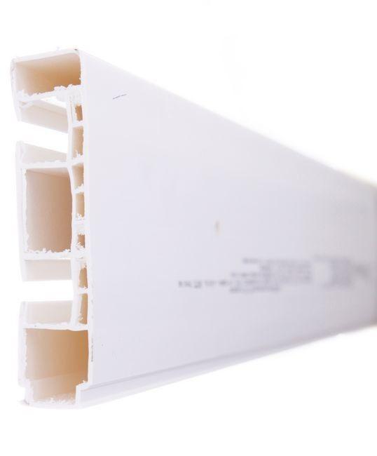 Szyna sufitowa GK2 2-torowa biała 180 cm