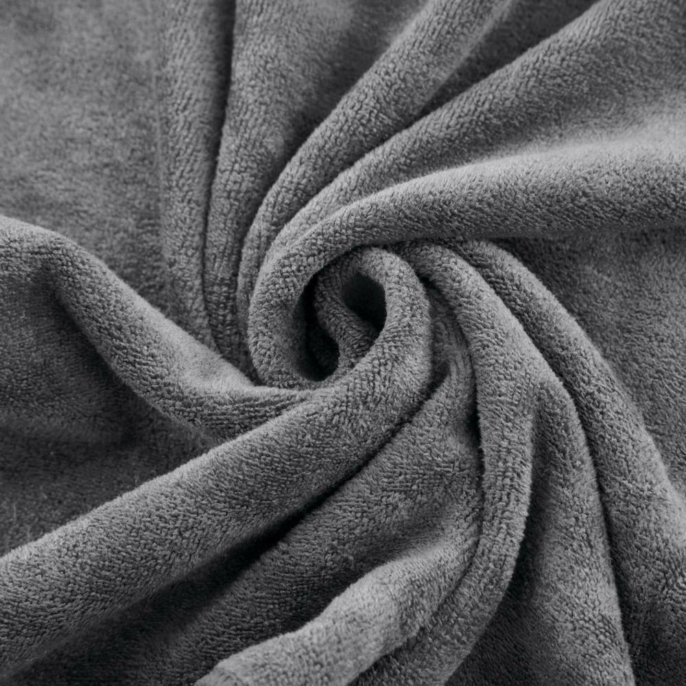 Ręcznik Szybkoschnący Amy 50x90 18 grafitowy 380 g/m2 Eurofirany