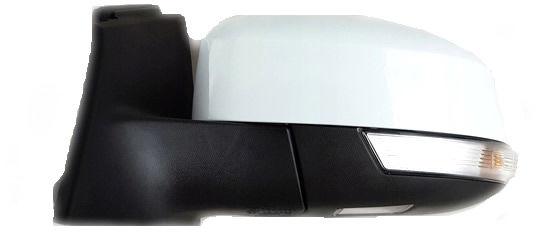 1x Nowe Oryginalne Lusterko Zewnętrzne Kierunkowskazem Ford Focus MK3 III Lift BM5117683YA - FROZEN WHITE