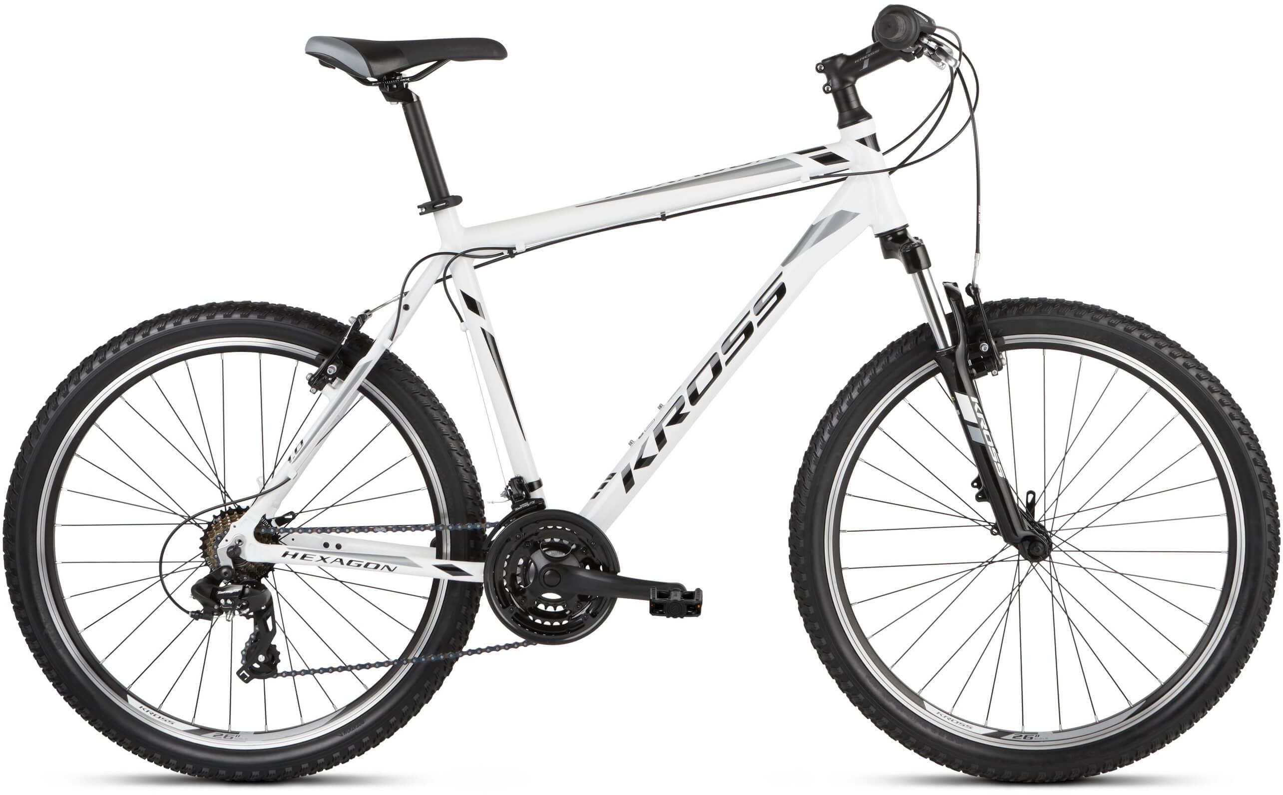 "Rower Kross HEXAGON 1.0 biały 26"" 2021"