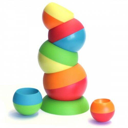 Wieża dla malucha kule Tobbles Fat Brain Toys