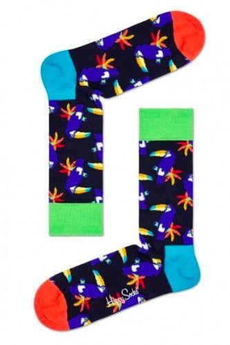 Happy Socks skarpetki TOU01-6500 bawełna r.36-40 tukany