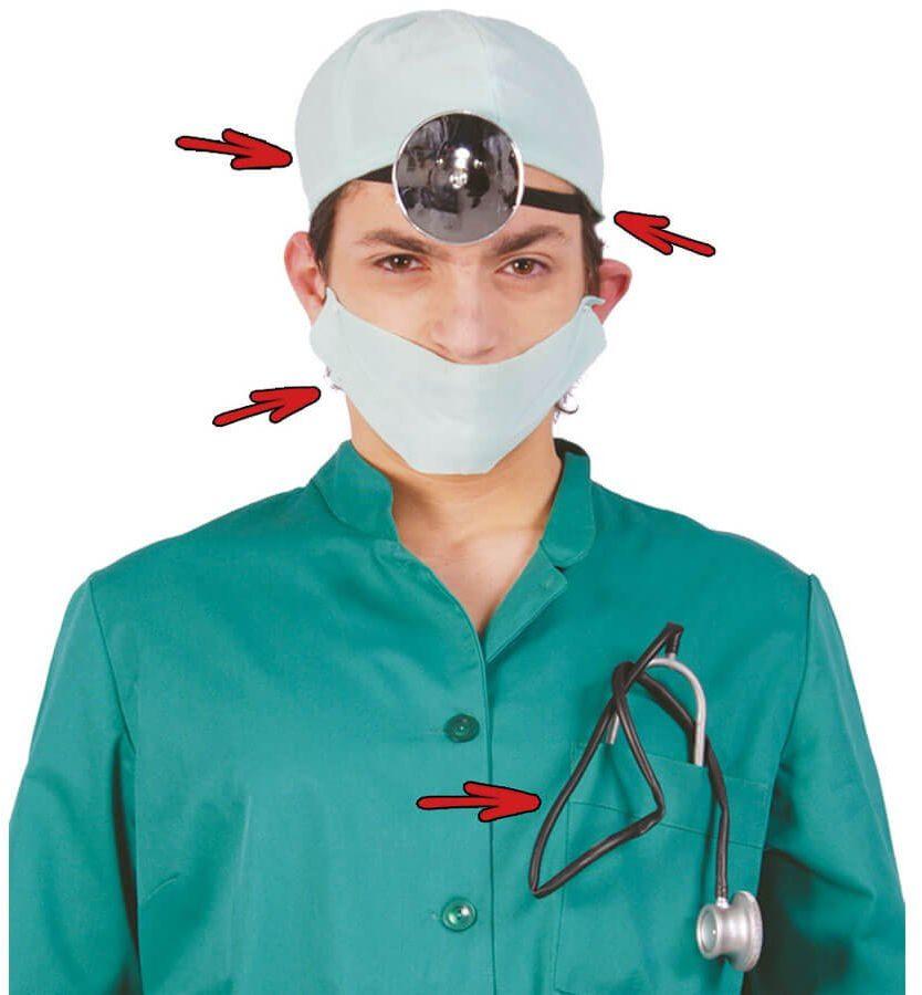 Zestaw doktora - 4 el.