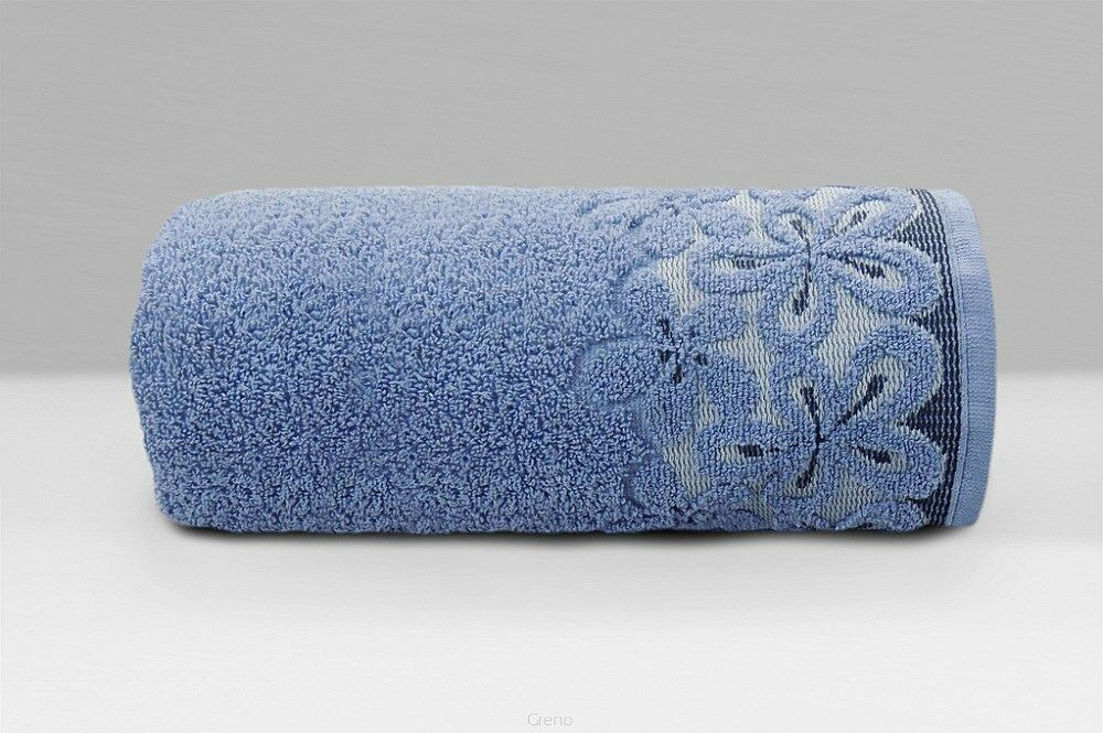 Ręcznik Bella 70x140 denim 450 g/m2 frotte Greno
