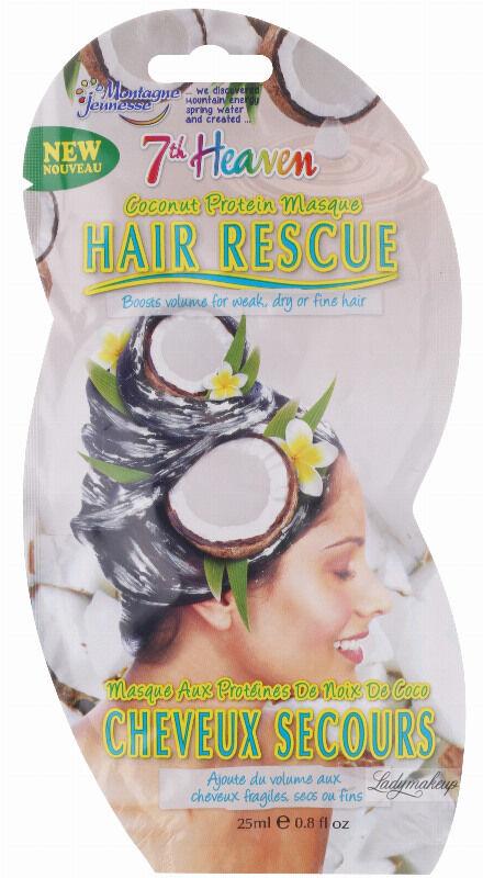 7th Heaven (Montagne Jeunesse) - Kokosowa maska regenerująca do włosów