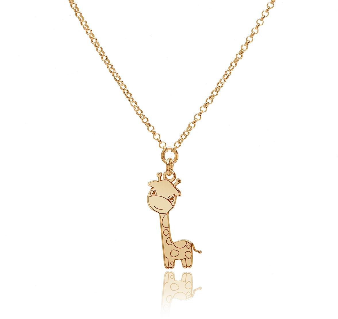 Naszyjnik z żyrafą