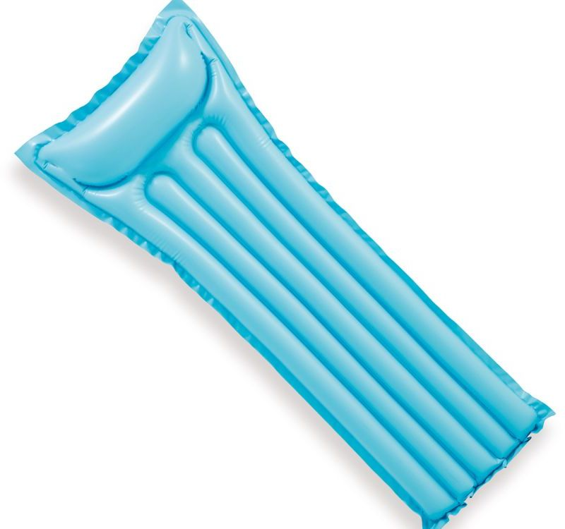 Materac plażowy do pływania ECONOMATS niebieski Intex 59703