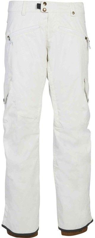 spodnie 686 - Wmns Mistress Insl Cargo Pant White (WHT)