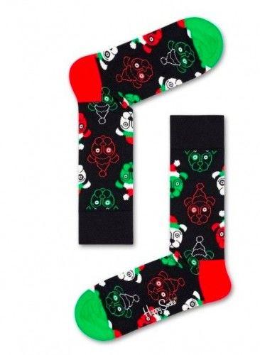 Happy Socks skarpetki SDOG01-9300 bawełna r.41-46 Święta Dog