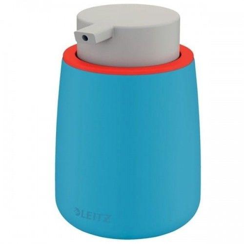 Dozownik z pompką na płyn dezynfekujący/mydło 300ml LEITZ COSY ceramiczny niebieski morski /54040061/ !dostępność czerwiec 2021!