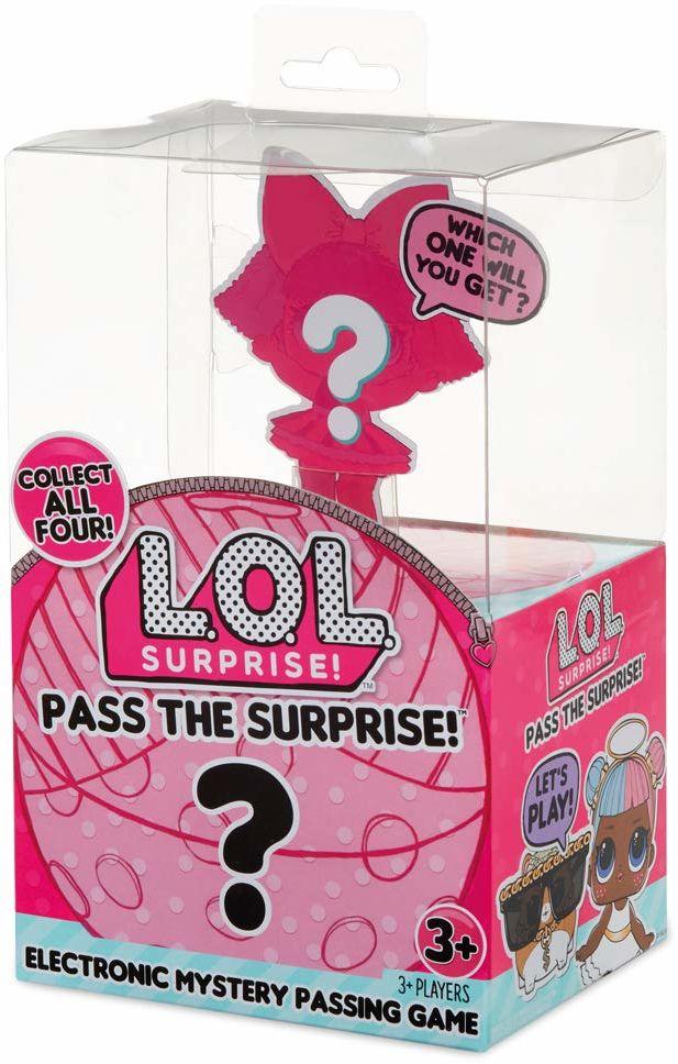 L.O.L. Niespodzianka  gra gorąca patate wersja L.O.L, elektroniczny timer, 2 gracze, modele losowe, baterie nie wchodzą w zakres dostawy, zabawka dla dzieci od 3 lat, LLU48