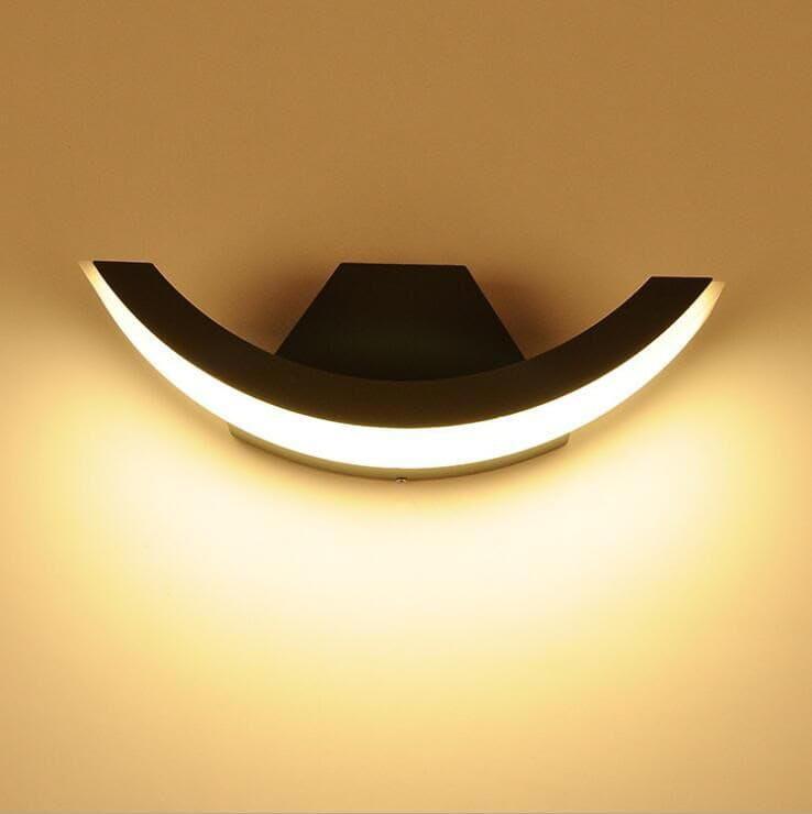 Amos - kinkiet LED 8W - lampa ścienna - oświetlenie elewacji