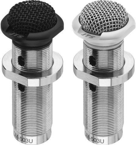 JTS CM-503U/W Mikrofony elektretowe, montażowe