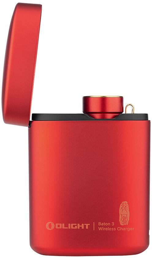 Latarka akumulatorowa Olight Baton 3 Limited Premium Edition Dragon/Phoenix 1200 lumenów z bezprzewodowym etui ładującym