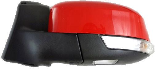 1x Nowe Oryginalne Lusterko Zewnętrzne Kierunkowskazem Ford Focus MK3 III Lift BM5117683YA - RACE RED