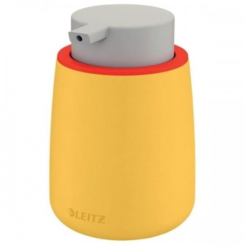 Dozownik z pompką na płyn dezynfekujący/mydło 300ml LEITZ COSY ceramiczny żółty ciepły /54040019/ !dostępność czerwiec 2021!