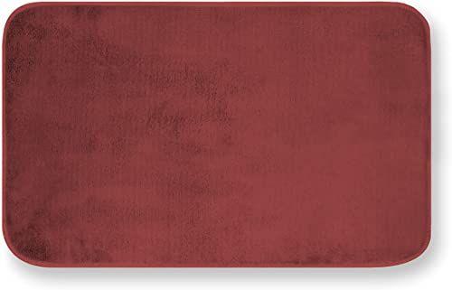 GEMITEX MERLINO 50 x 80 dywan ULTRASORBENT, poliester, bordowy