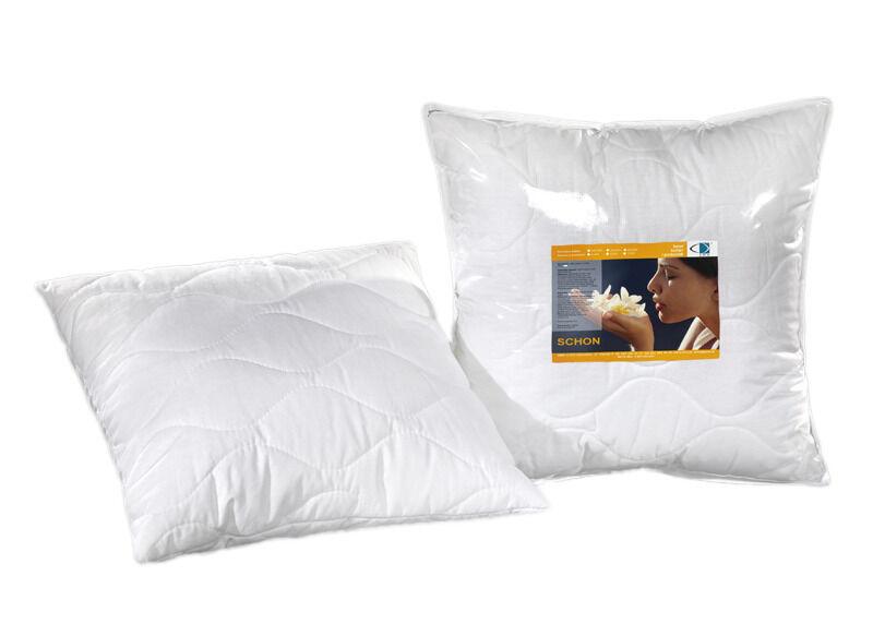 Poduszka antyalergiczna 50x60 Microline Schon biała 0,45 kg 100% mikrofibra AMW