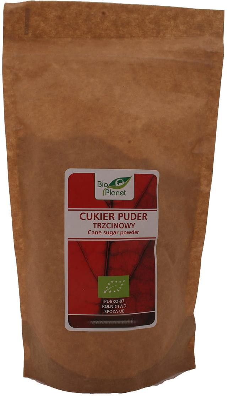 Cukier puder trzcinowy BIO - Bio Planet - 300 g