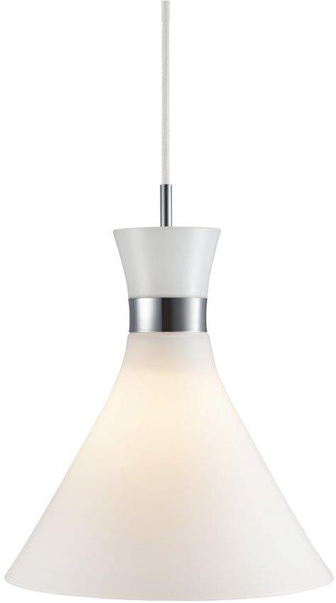 Lampa wisząca Trumpet 84903001 Nordlux biała oprawa w nowoczesnym stylu