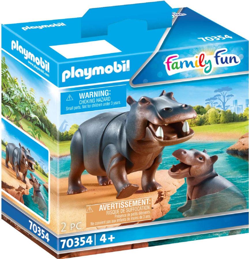Playmobil - Hipopotamy w Zoo 70354