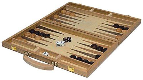 Beluga Backgammon Game (wielokolorowy)