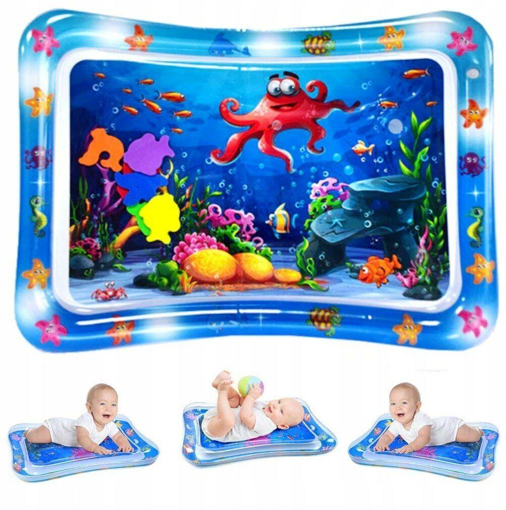 Dmuchana Mata Wodna Sensoryczna dla niemowląt 5727