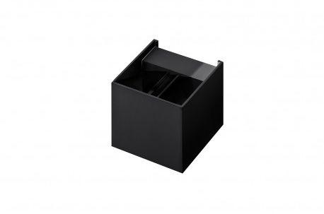 Kinkiet Leticia AZ2932 AZzardo czarna oprawa w nowoczesnym stylu