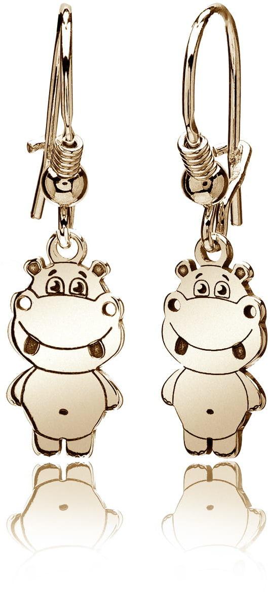 Kolczyki hipopotamy