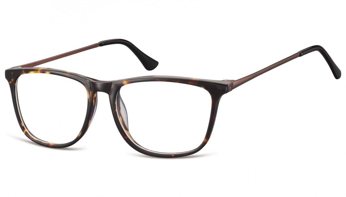 Okulary oprawki korekcyjne Nerdy zerówki Sunoptic CP142B szylkret