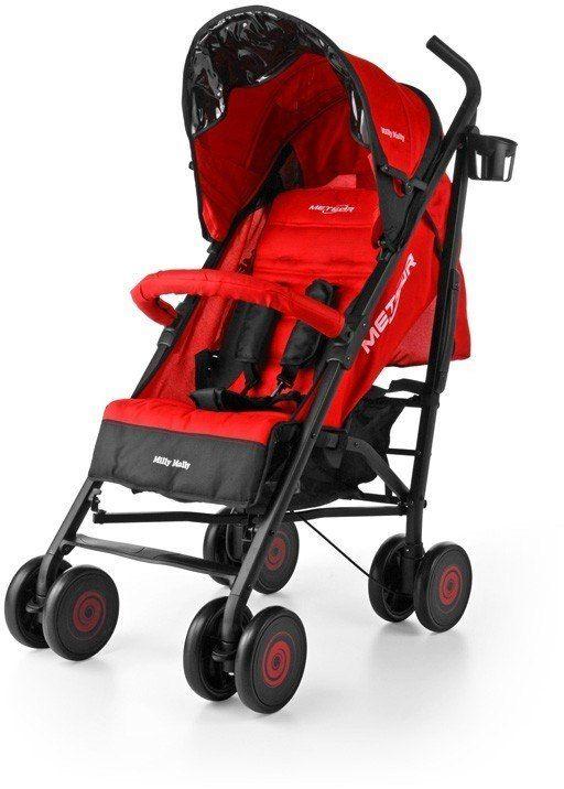 Milly Mally Wózek Meteor Red