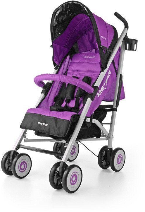 Milly Mally Wózek Meteor Purple