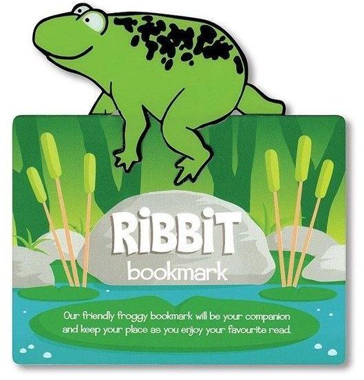 Zwierzęca zakładka do książki - Ribbit - Żaba