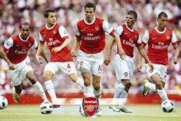 1art1 50438 piłka nożna - Arsenal, gracze 10/11 plakat 91 x 61 cm