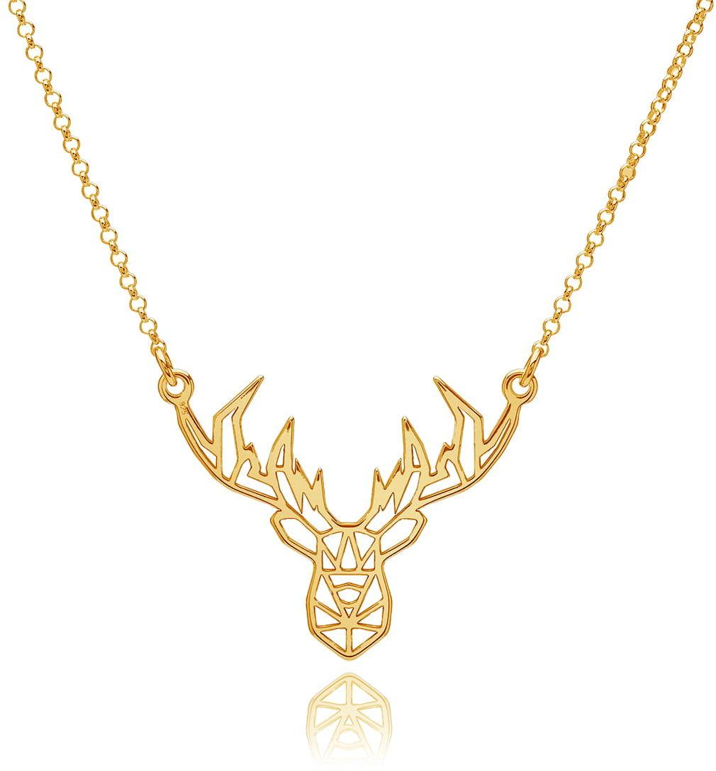 Naszyjnik z jeleniem