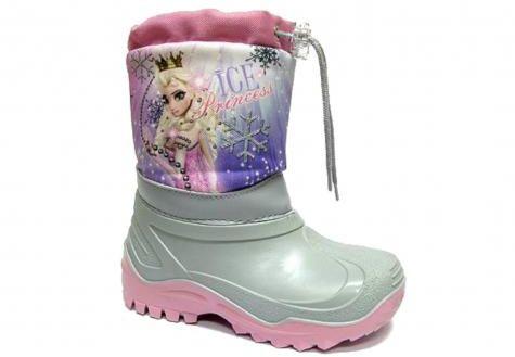 Renbut Muflon kalosze śniegowce dla dzieci 22-468/32-468 PRINCESS