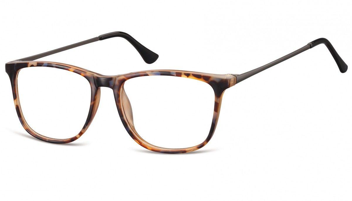 Okulary oprawki korekcyjne Nerdy zerówki Sunoptic CP142F szylkret mix