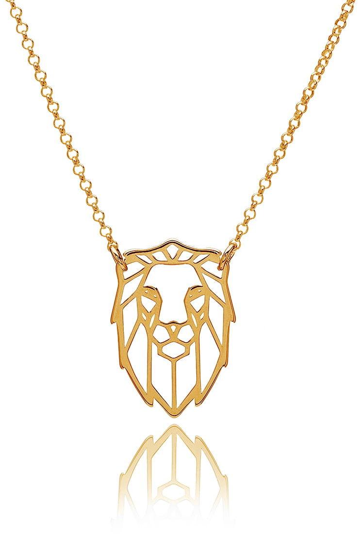 Naszyjnik z lwem