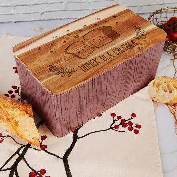 Domek dla chlebka - Chlebak z grawerem
