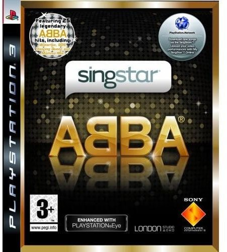 Singstar ABBA PS 3