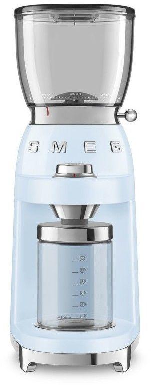 SMEG_Młynek do kawy CGF01PBEU p.błękit -(22)8777777- Zadzwoń - Darmowa dostawa- Autoryzowany Partner marki SMEG