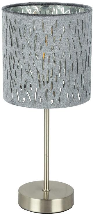 Globo TAROK 15265T lampa stołowa srebrny 1xE14 40W 15cm