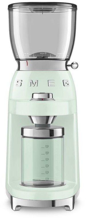 SMEG_Młynek do kawy CGF01PGEU p.zieleń -(22)8777777- Zadzwoń - Darmowa dostawa- Autoryzowany Partner marki SMEG