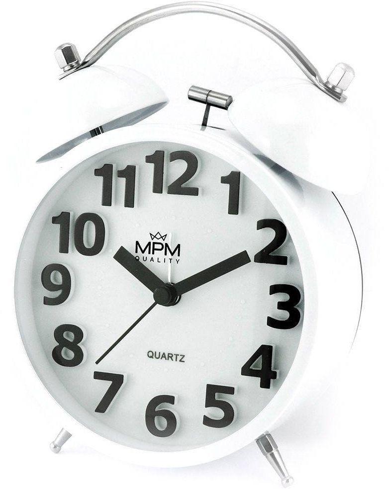 Budzik MPM C01.4056.00 Bell Alarm Retro