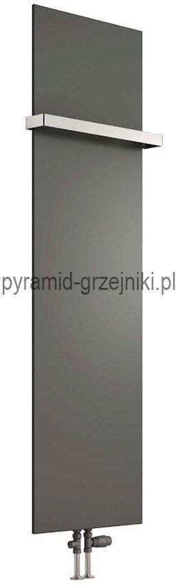 Grzejnik łazienkowy dekoracyjny SLIMLINE - antracyt 400/1770 mm