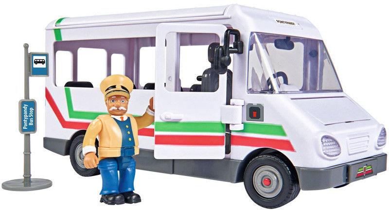 Simba Strażak Sam - Autobus Trevora z figurką i akcesoriami 9251073