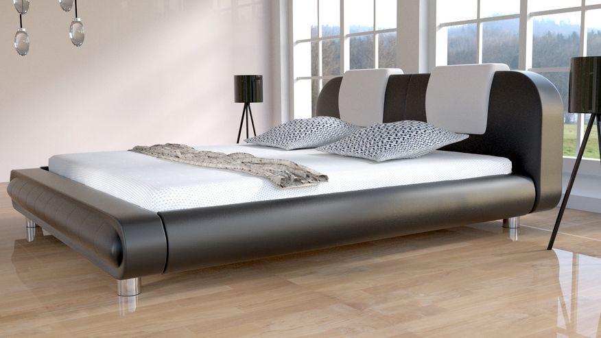 Łóżko do sypialni Laura - skóra ekologiczna