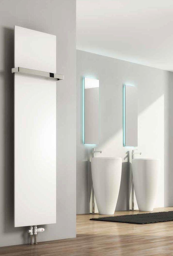 Grzejnik łazienkowy dekoracyjny SLIMLINE - antracyt 500/1770 mm