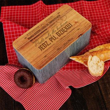 Kuchenne zasady - Chlebak z grawerem