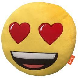 Emoji - poduszka Oczy-serca